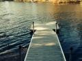 Stationary dock, access rmap , swim float