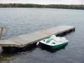Wood float docks